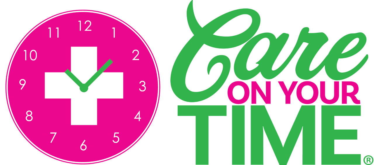 CARE ON YOUR TIME TRADEMARK LOGO